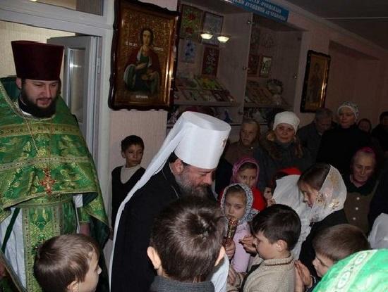 Главные герои первого юбилея Алчевского православного центра