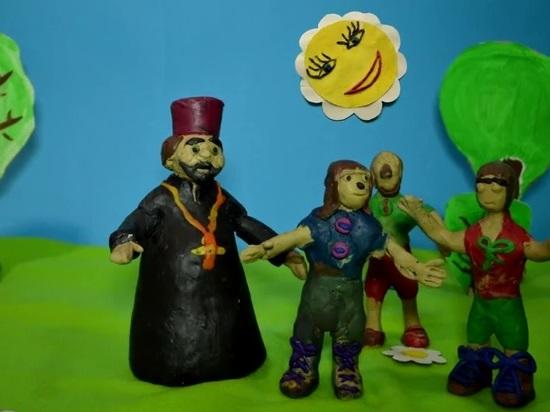 «Мир вашим детям» – мультфильм особых детей Алчевской духовной лечебницы