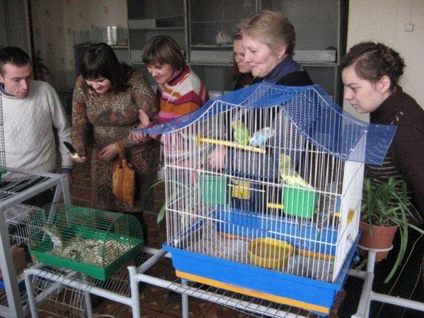 Особая встреча на станции юных натуралистов