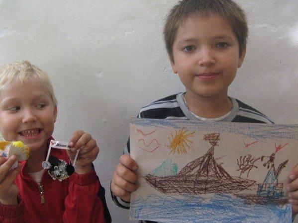 Алчевская лечебница и детский корабль взрослых надежд