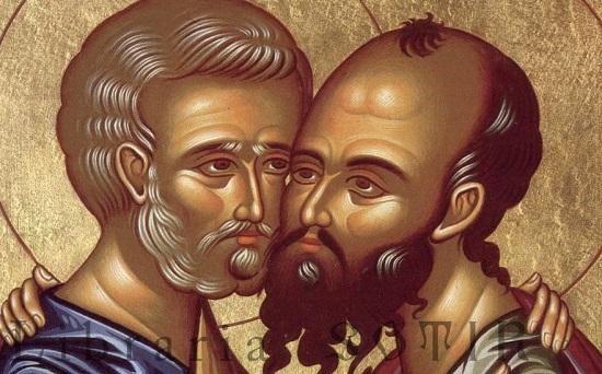 В день святых апостолов Петра и Павла