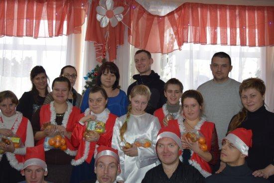 Рождественские гости в Алчевской лечебнице