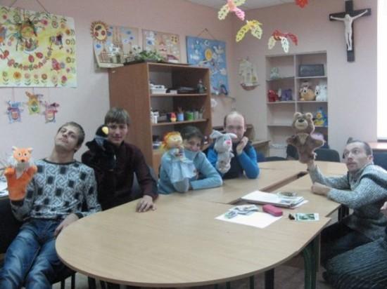 Адаптация детей в зоне АТО с помощью анималотерапии